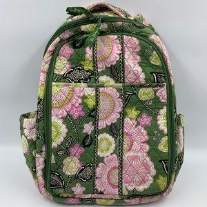 Vera Bradley Backpack Book Bag Large Floral